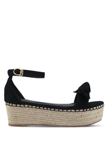 Mimosa black Espadrille Wedges F29C4SHE06EB62GS_1