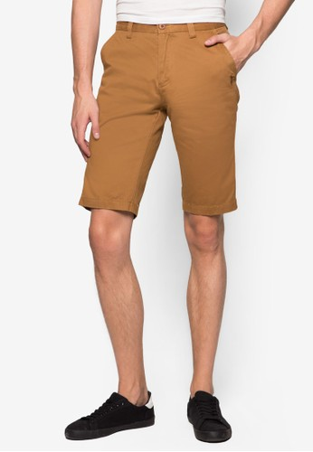 簡約休閒短褲,zalora taiwan 時尚購物網 服飾, 短褲
