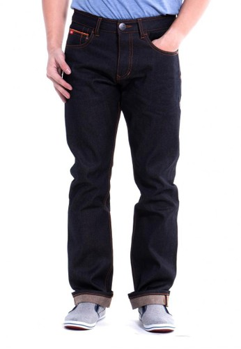 Lee Cooper blue Lee Cooper Men s HARRY Straight Fit Jeans indigo dry  A38CFAAD34BCEBGS 1 51348c60e9