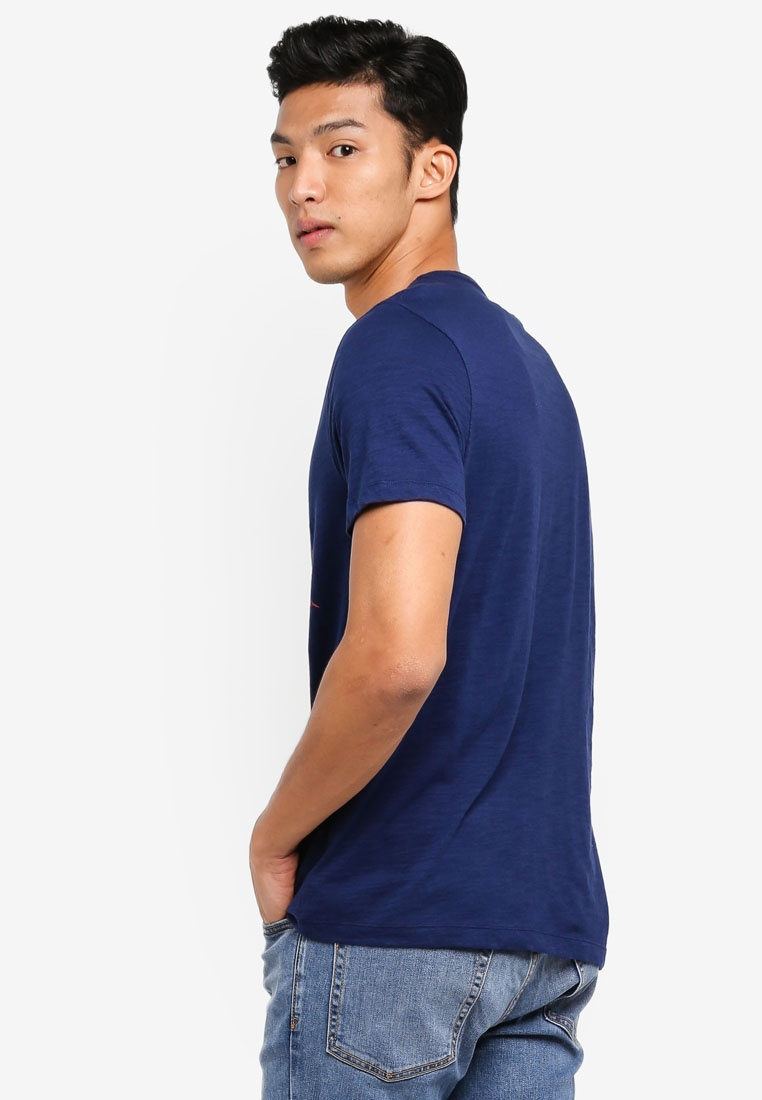 Shirt Blue GAP City Elysian T 4wxnUO