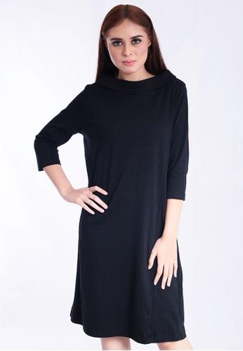 caedf8dd6ed LAURA ASHLEY black Laura Ashley Bradot Tunic Dress 287B0AAF75BD24GS_1