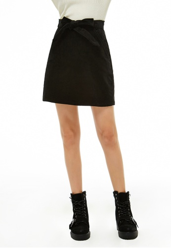London Rag black Bow Detail Skirt E3B15AA267FCBBGS_1