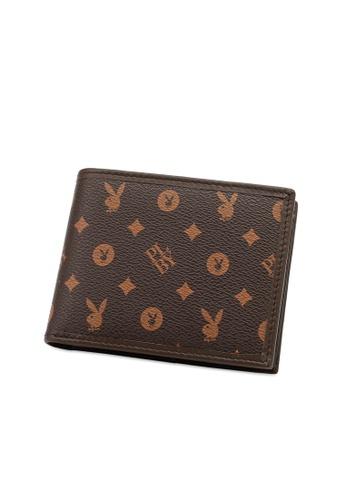 Playboy brown RFID Blocking Wallet 8E447AC5EE3C88GS_1