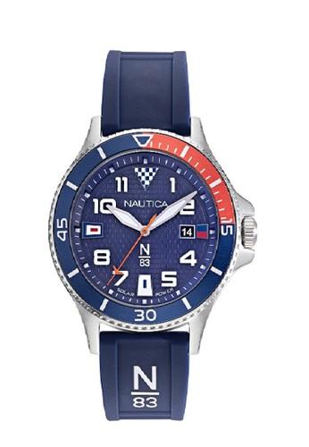 Nautica Watch Nautica jam tangan pria Cocoa Beach NAPCBF916 Biru 48FC7ACE87ADB9GS_1