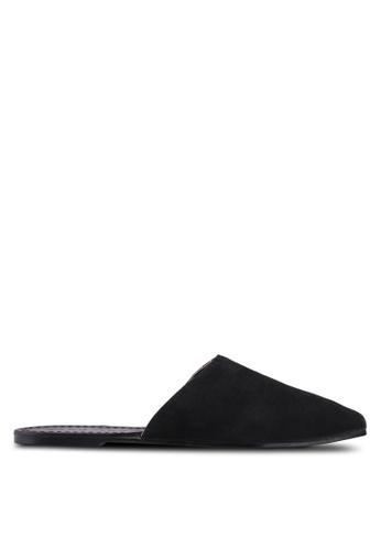 Vero Moda black Lia Leather Mules 0867CSHE9BED26GS_1
