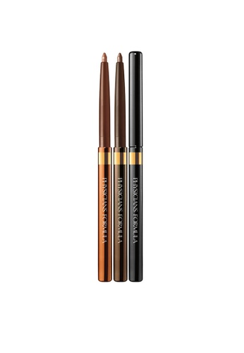 Physicians Formula Eyeliner: [Physicians Formula Official]  Shimmer Strips Custom Eye Enhancing Eyeliner Trio - Warm Nude  (FREE x 1 Angle Brow Brush) PH385BE94KAFMY_1