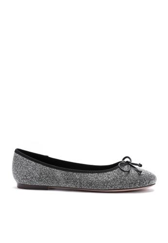 Twenty Eight Shoes silver Glitter Flat Shoes  889-6 B8E0DSHADB4313GS_1