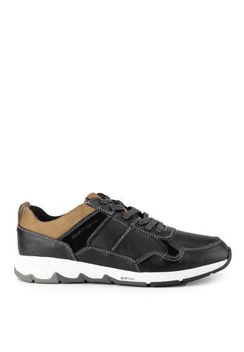 Hush Puppies black Hush Puppies TS Field Sneaker In Black FC66CSHD046B3BGS_1