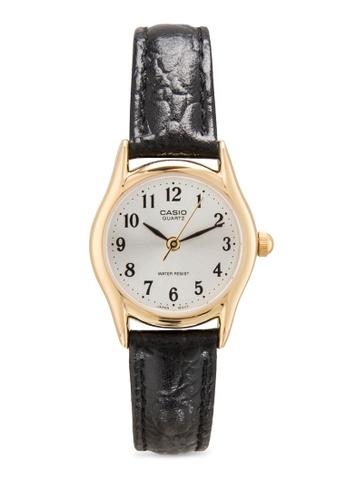 3b77e0ada0f Casio black Casio Standard Women s Black Leather Strap Watch LTP-1094Q-7B2RDF  CA843AC82MKFMY 1
