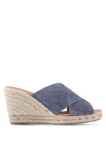 Carvela KG blue Karp Wedge Sandals 2D265SHE0E745EGS_1