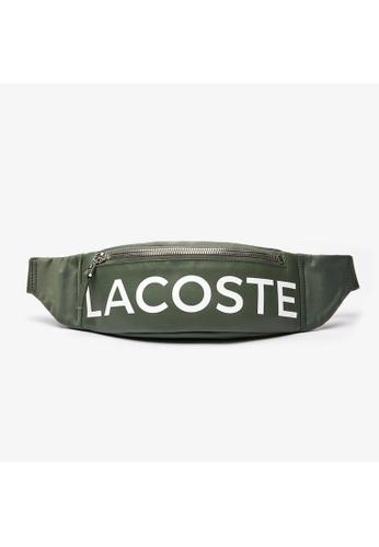 Lacoste Men's L.12.12 Signature Leather Zip Belt Bag-NH2932IA F3C25AC42FE76FGS_1