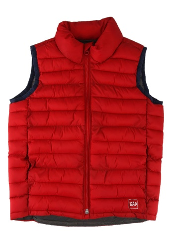 GAP red Lightweight Vest 4C3BDKA5024B6AGS_1