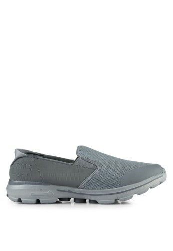 UniqTee grey Lighweight Slip-On Sport Sneakers UN097SH0S21KMY_1