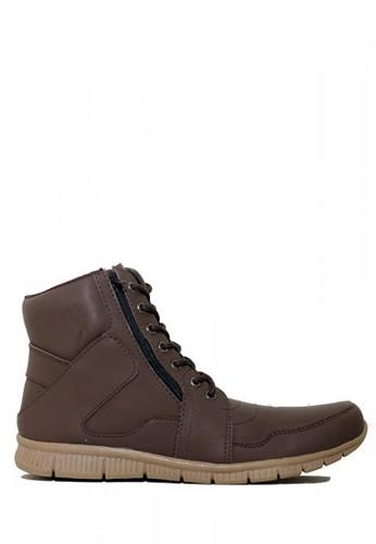 D-Island brown D-Island Shoes Zipper Office Mens Leather Brown 9899FSH682CB9CGS_1