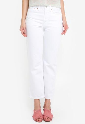 TOPSHOP 白色 Moto White New Boyfriend Jeans 60A71AA14BEC5FGS_1