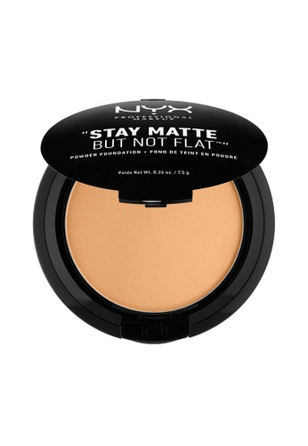NYX Professional Makeup beige NYX Professional Makeup Stay Matte Powder Foundation- FRESH BEIGE F5763BE77D4BDEGS_1