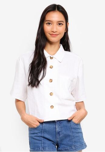 Cotton On white Meg Shirt A0681AAFCE991CGS_1