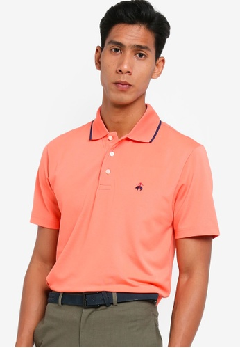 Brooks Brothers pink Pique Polo Shirt With Tipping 2F2B0AAC7D5A42GS_1