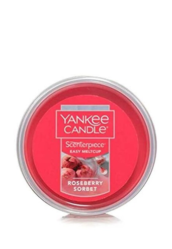 Yankee Candle red Scenterpiece MeltCups Refill Roseberry Sorbet A6853HL43CF85EGS_1