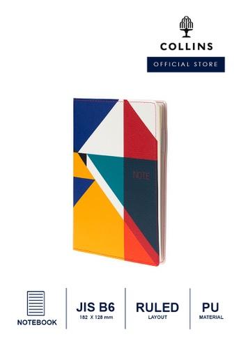 Collins Collins Palette   ─  Notebook B6 Ruled - Triangle B3E6CHLA2E034CGS_1