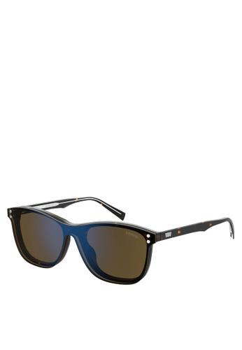 Levi's brown LV 5013/CS Sunglasses 13507GLFF07265GS_1