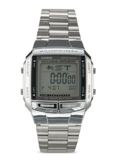 Image of Casio Men's Silver Stainless Steel Band Watch DB-360-1ASDF