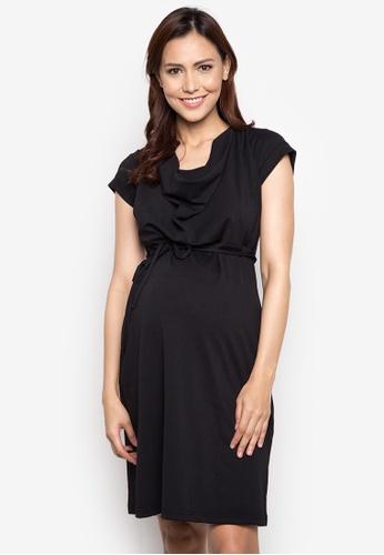 Mamaway black 2 in 1 Maternity and Nursing Dress MA263AA26TGBPH_1