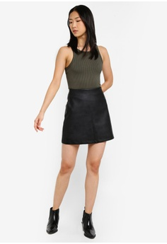 f5d46f3e4b 58% OFF Supre PU A-Line Skirt S$ 40.00 NOW S$ 16.90 Available in several  sizes