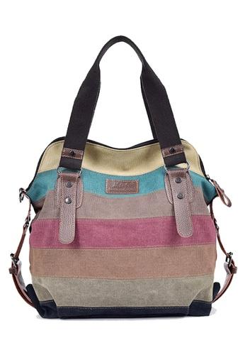Twenty Eight Shoes multi VANSA Colorful Canvas Tote Bag VBW-Tb1196L A3013AC9C8E17CGS_1