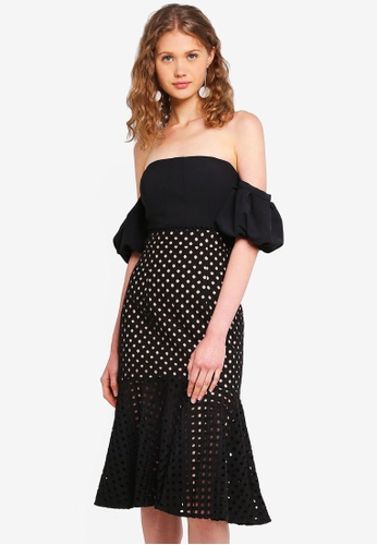 JARLO LONDON black Coco Dress 5A123AA845DD1CGS_1