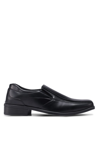 Bata black Slide-On Dress Shoes 1CC80SH9704606GS_1