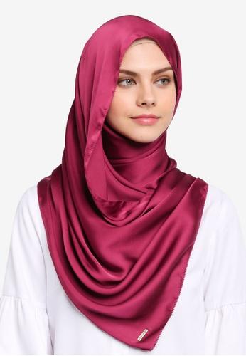 Najjah pink Satin Silk Shawl NA225AA0SR6GMY_1
