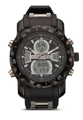 雙顯示運動手esprit台灣網頁錶, 錶類, 飾品配件