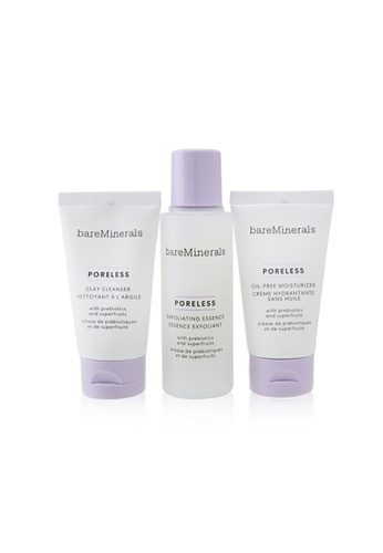 BareMinerals BAREMINERALS - Poreless At Any Age Starter Kit: Clay Cleanser 30ml+ Exfoliating Essence 50ml+ Oil-Free Moisturizer 30ml 3pcs B3D49BE446D74DGS_1