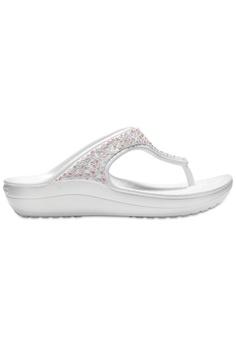 505c5e87374e Crocs Women s Crocs Sloane Embellished Flip Oys Multi 9E0BASH81B3723GS 1