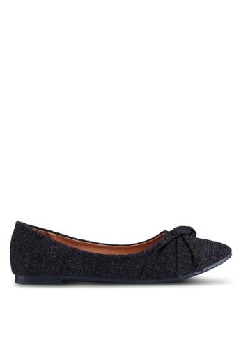 Noveni 黑色 休閒平底鞋 F2D33SHC452FB7GS_1