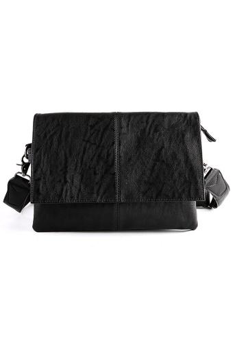 Lara black Men's Crossbody Bag - Black 178F5ACEB0A964GS_1