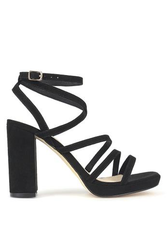 Betts black Sapphire Platform Sandals A58CESHE175EB4GS_1