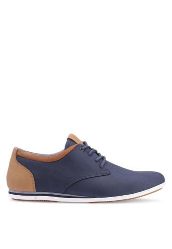 ALDO navy Aauwen Derby Shoes EE917SHB78845DGS_1