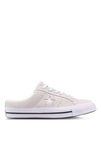 4180d9d4f90a Converse black and white One Star Mule Sneakers 3C3E0SH13C164CGS 1