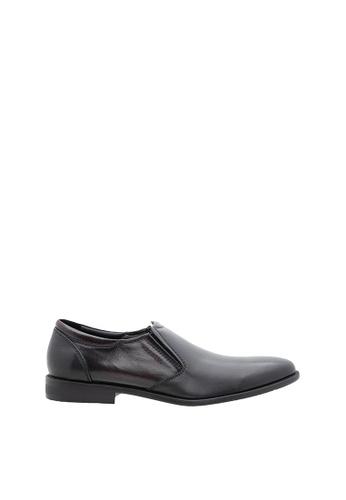 SEMBONIA black SEMBONIA Men Nappa Leather Business Shoe (Black) BC12FSH9686D33GS_1