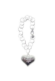 Elegant Heart Links Bracelet