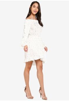 d46c4fcabc 34% OFF INDIKAH Off Shoulder Long Sleeve Asymmetrical Hem Dress S$ 97.00  NOW S$ 63.90 Sizes 6 8 10 12