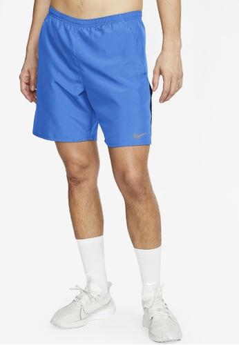 Nike blue Men's Dri-Fit 7 Running Shorts B1D93AA24E1095GS_1