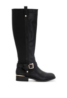 Na kd Slim Western Overknee Boots Black | ModeSens