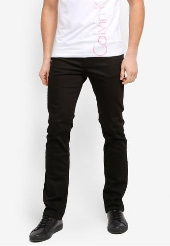 Calvin Klein black Slim Straight - CB CMF Jeans - Calvin Klein Jeans EC6B7AAE53E740GS_1