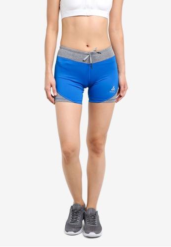 Odlo blue Hana Short Tights OD608AA0S12KMY_1