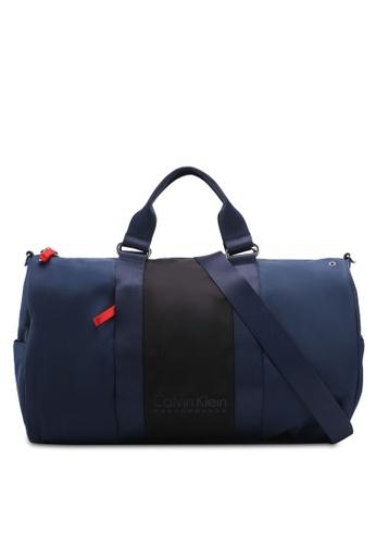 Calvin Klein black Solid Tone Duffel Bag - Calvin Klein Performance 181B8AC6185EA5GS_1