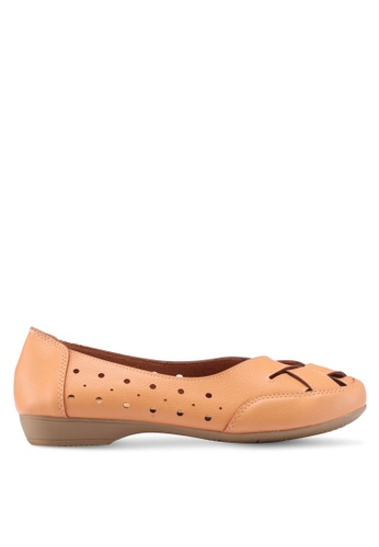 Louis Cuppers brown Ballet Flats 19F6ASHB1EB8AEGS_1