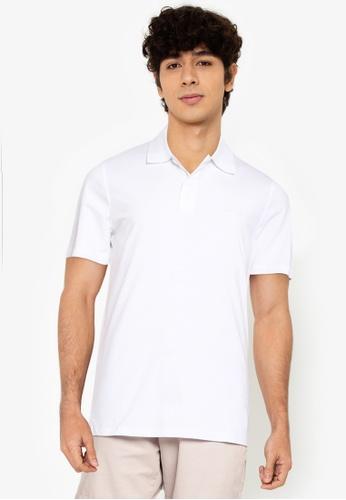 Jack & Jones white Schultz Turk Short Sleeves Polo DA64EAA12F54B6GS_1